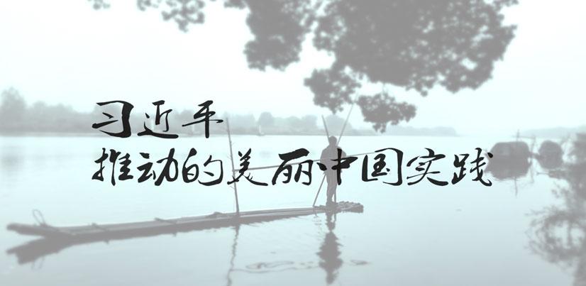 微视频《习近平推动的美丽中国实践》