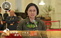 卢丽安:以身为台湾女儿为荣,以身为中国人骄傲