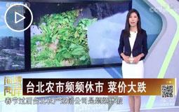 台北农市频频休市 采价大跌