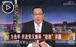 """为选举 民进党又操弄""""统独""""议题"""