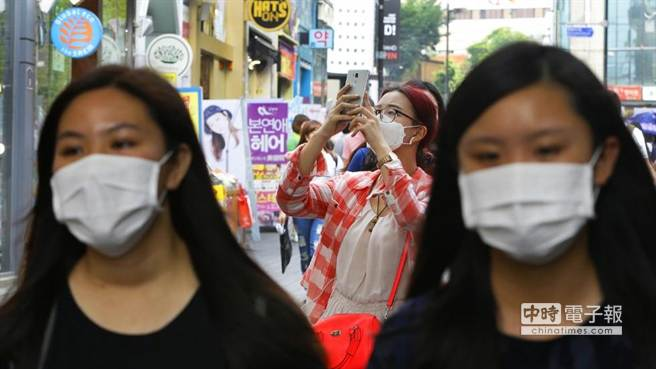 台官方紧急宣布:对韩国疫情提升到第二级警示(图)