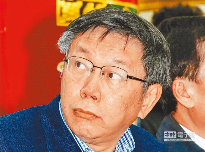 """台北市长柯文哲满意度再创新低 恐现""""死亡交叉"""""""