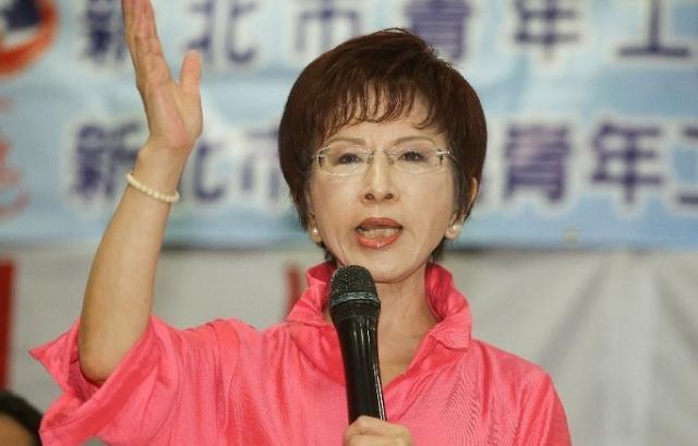 """洪秀柱:台湾要做好大陆""""坐大""""准备"""