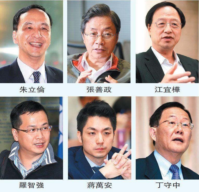 国民党台北选战暗涛汹涌 6大热门人选背后大佬势力较劲