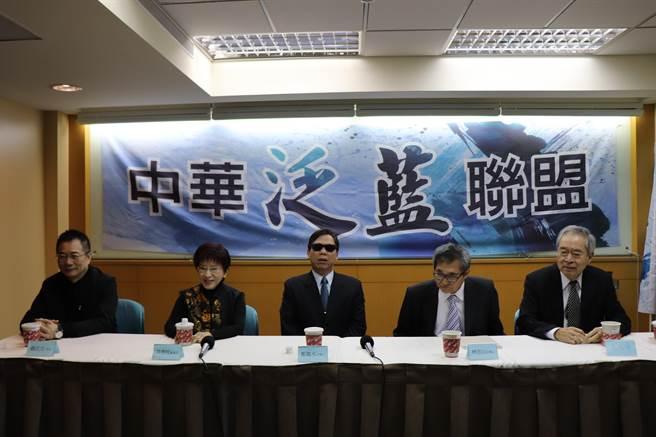 洪秀柱呼吁泛蓝人士大团结 助力国民党重返执政