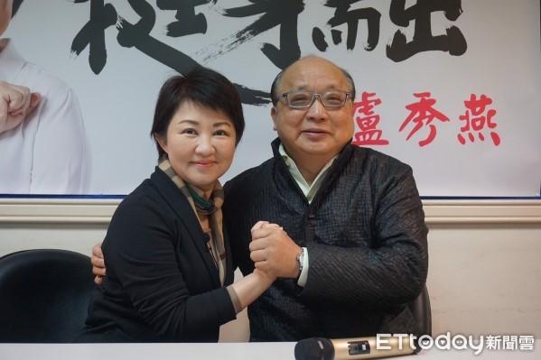 胡志强为卢秀燕站台 夸她是台中市政好驾驶