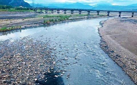 浊水溪近日变清 台湾地区要有大事发生?