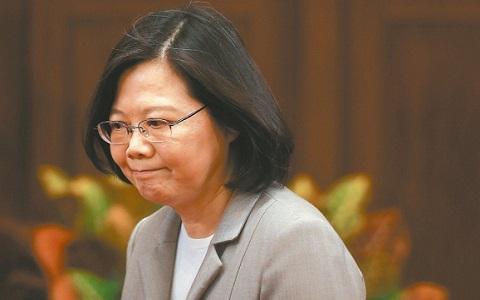 台媒民调:蔡英文施政不满意度攀高 连南部也逆转