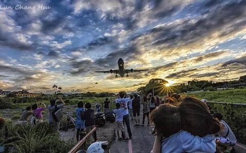 台北5大绝美追机热点曝光 航空迷摄影迷们有福了