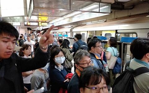 4.18台北捷运停运东森1.jpg