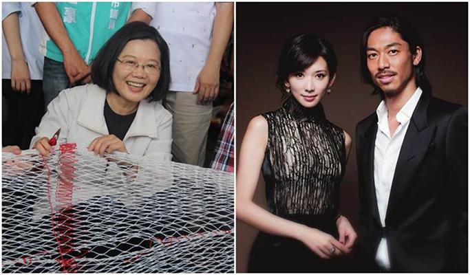 林志玲结婚蔡英文要台湾男生自立自强 网友:有脸讲别人?