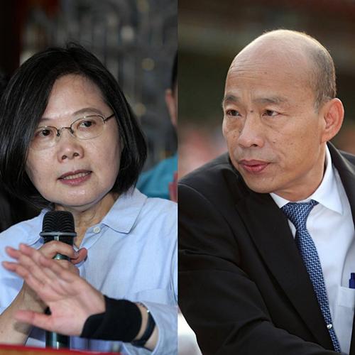 正式宣战!韩国瑜向蔡英文下两岸政策辩论战帖