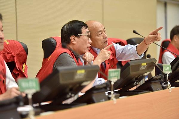 韩国瑜或为2020请无薪假 市府:请假也为市政成败负责