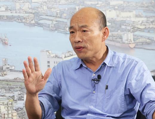 韩国瑜证实跟吴敦义讨论不分区:具备3个条件才行