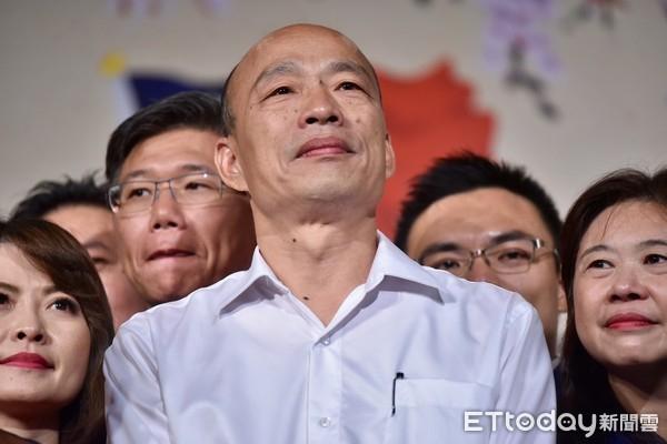 韩国瑜与蔡英文民调差12% 韩:民心比民调重要太多了