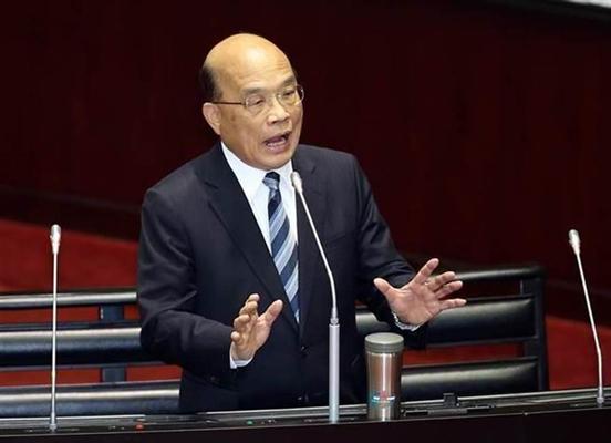 苏贞昌呼吁尊重媒体人 台网友:今年最大笑话