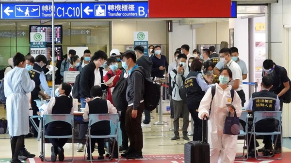 台湾输出新冠肺炎病例暴增 国民党吁出境前筛检