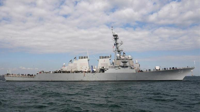 又挑釁!美國兩艘驅逐艦今晨穿航臺灣海峽 國防部態度堅決
