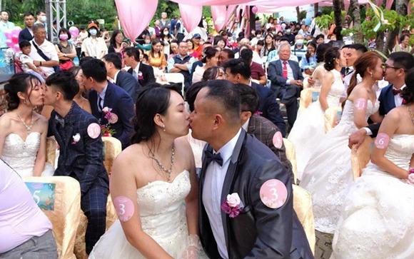 台湾地区2020年结婚对数创10年来新低