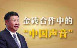 """金砖合作中的""""中国声音"""""""