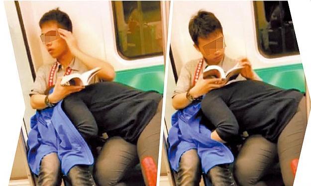 欧美色色口交_高雄地铁当众上演活春宫 香港游客偷拍上网遭疯传