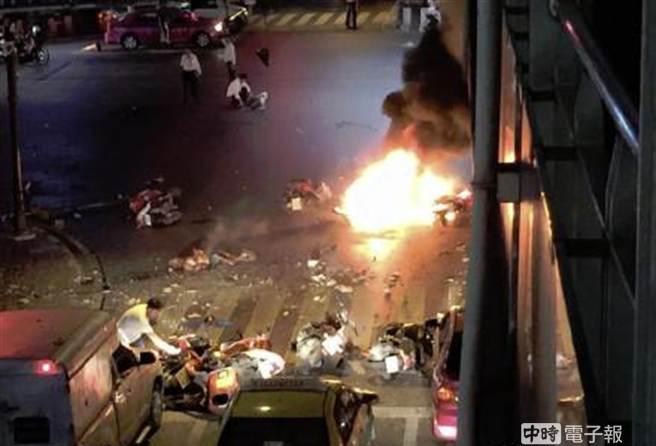 中国台湾网8月17日讯 泰国曼谷商业区今(17日)晚惊传爆炸.