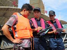 """我和""""G20""""的故事(69)钱江处海事所海事人员朱筱嘉:确保G20水上交通运输安全 半个月之江所整改缺陷船舶610余条"""