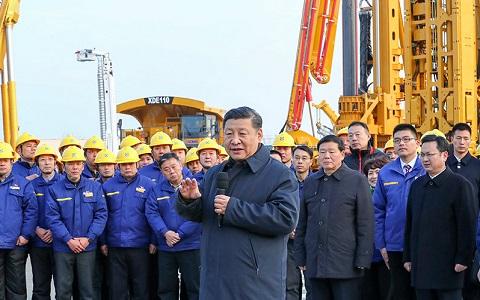 拥抱新时代 迈上新台阶——习近平总书记江苏徐州考察回访