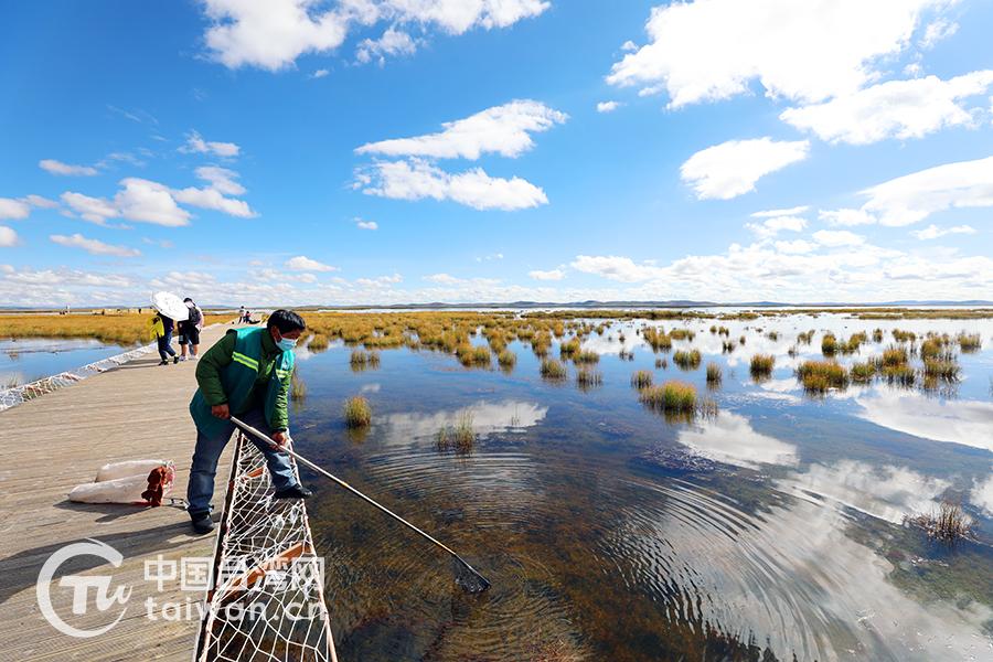 若尔盖湿地自然保护区花湖保护站管护员如科