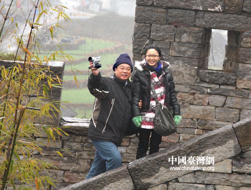 抚今追昔此心同 台南民意代表参访团游南方长城