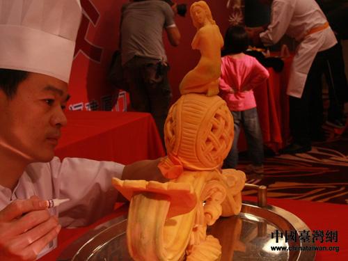 2011海峡职工论坛厨艺交流精彩 互动热烈图片