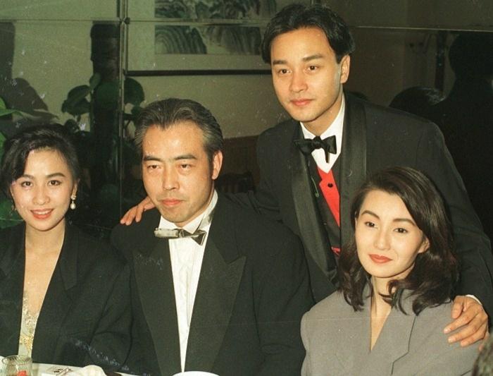 组图:台媒曝光张国荣罕见经典照片
