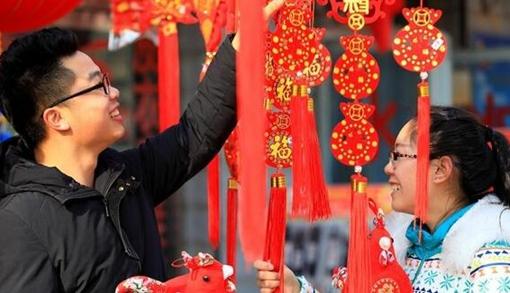 【高清组图】新疆博湖县:春节临近 年味浓