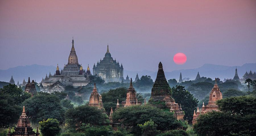 缅甸醉人的风景