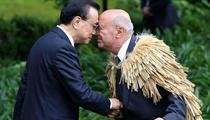 新西兰总理英格利希举行隆重仪式欢迎李克强