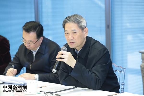 國台辦主任張志軍走訪慰問在京台資企業