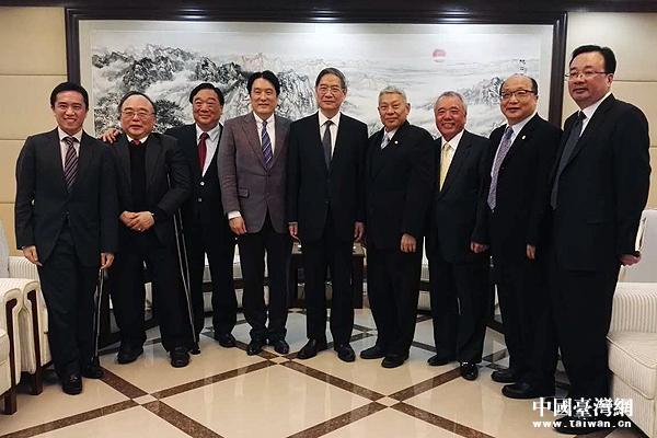 张志军会见台湾食品业访问团