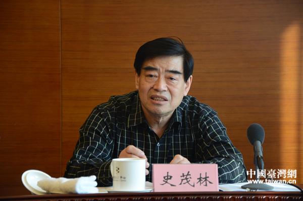 台籍政协委员史茂林:两岸关系和平发展才是人间正道