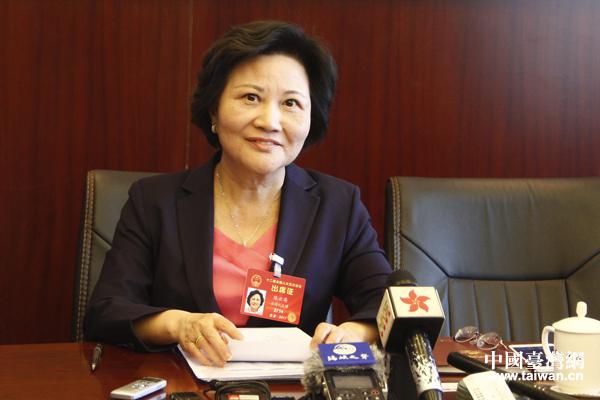 台籍人大代表陈云英:用脚投票的台湾青年越来越多