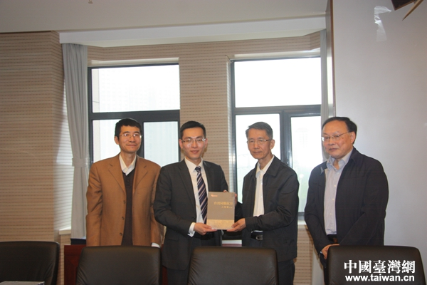 吳國禎與臺灣青年學者北京智庫參訪團進行交流座談