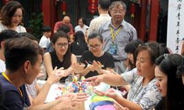 台湾大学生走访建国门街道社区 感受老北京文化魅力