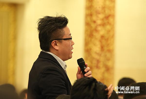 台湾东森电视台记者提问