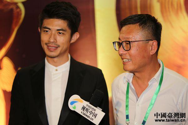 获奖者接受台湾网记者专访。(中国台湾网 袁楚 摄)