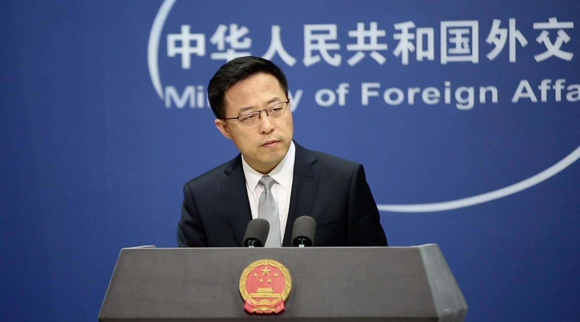 """外交部回应台湾""""驻美代表""""与拜登顾问通话:挟洋自重终遭可耻失败图片"""