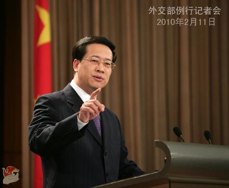 2010年2月11日外交部就朝鲜副外相金桂冠访华