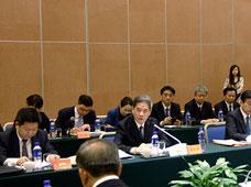 台湾8县市长参访团访京