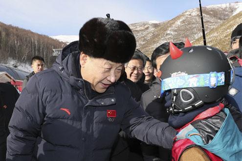 习近平:不要贪大求全 高质量完成冬奥会筹办