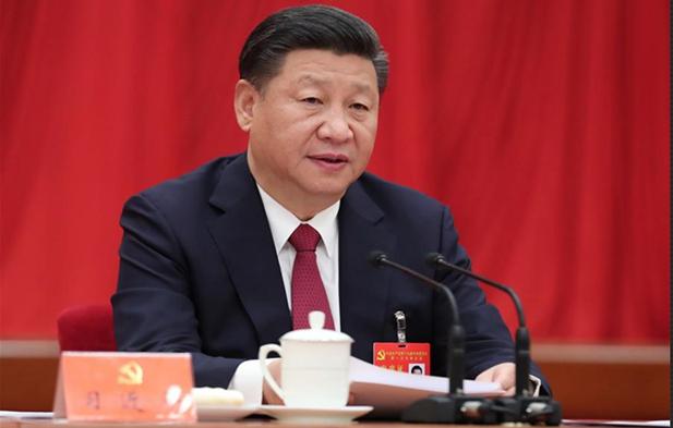 中国共产党第十九届中央委员会第一次全体会议在京举行